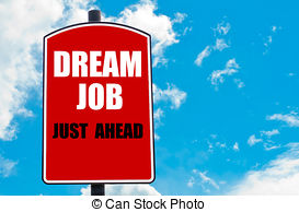 Clipart of Just Dream.