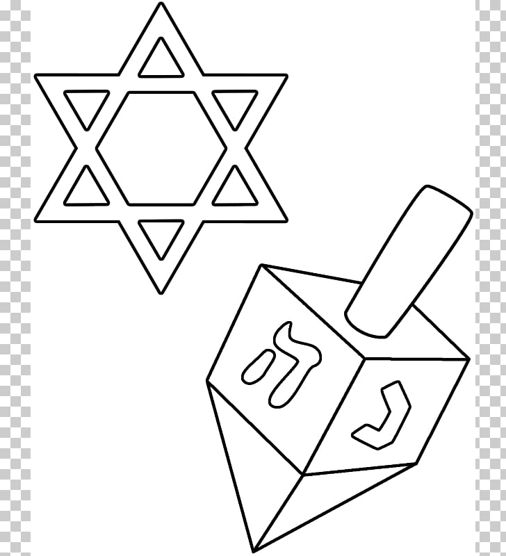 Star of David Coloring book Judaism Hanukkah Jewish identity.