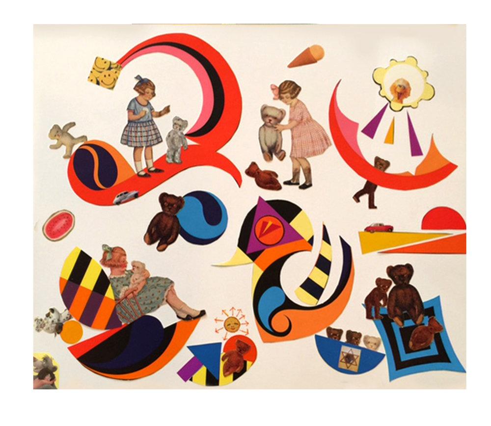GALLERY FIVE — Art by Esther Dreifuss.