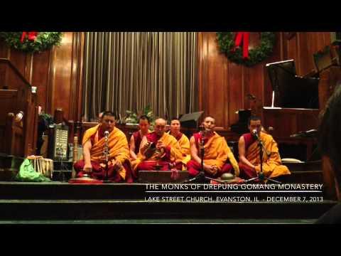 The Tibetan Monks of Drepung Gomang Monastery (1 of 2).
