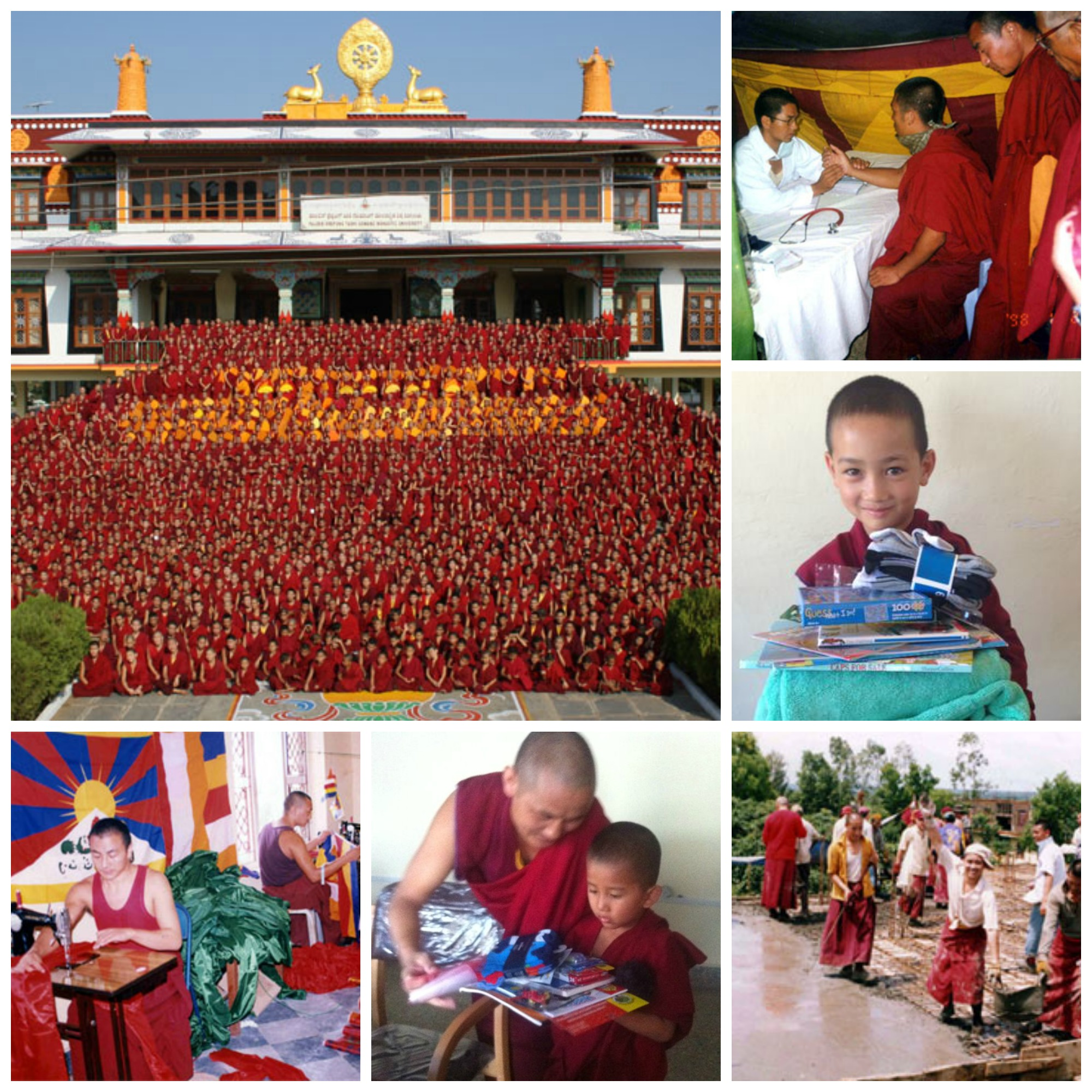 Sand Mandala & Other Events w/ Drepung Gomang Monks, March 8.