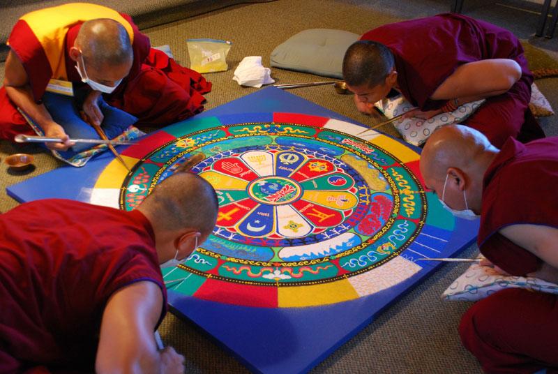Sacred Sand Art: Lighthouse ArtCenter Hosts the Tibetan Monks of.