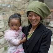 Stock Photo of China, Tibet, near Lhasa, Drepung Monastery.