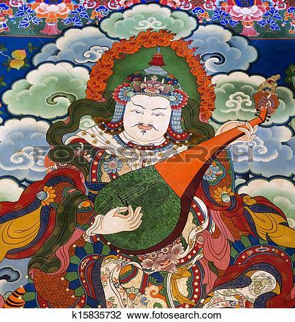 Stock Photo of Tibet.