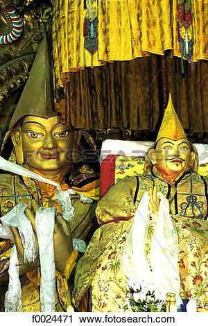 Stock Photography of China, Tibet, near Lhasa, Drepung Monastery.