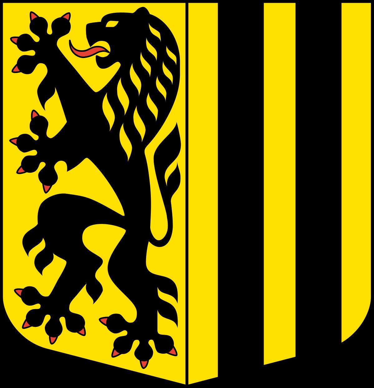 Coat of arms of Dresden.