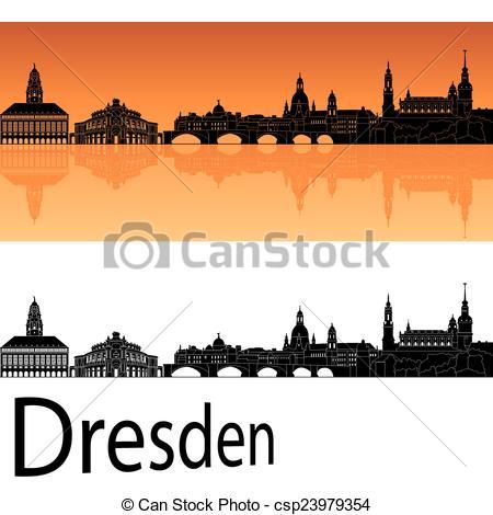 Dresden skyline Clip Art and Stock Illustrations. 54 Dresden.