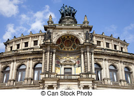 Stock Photography of Historical building in Dresden (Germany.