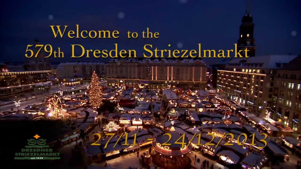 Dresden Striezelmarkt 2013: 27/11 to 24/12/2013.