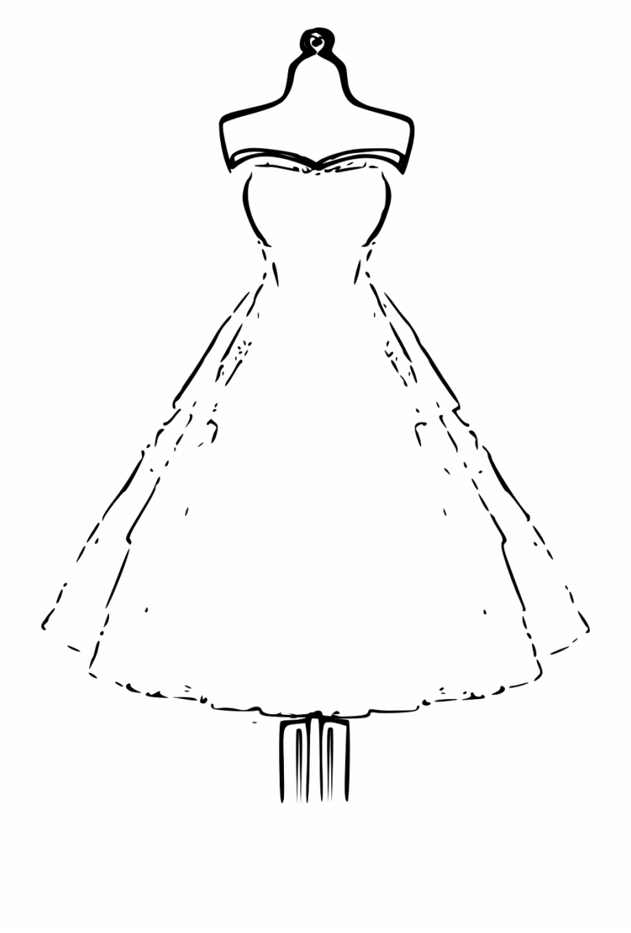 Free Dress Black And White Clipart, Download Free Clip Art.