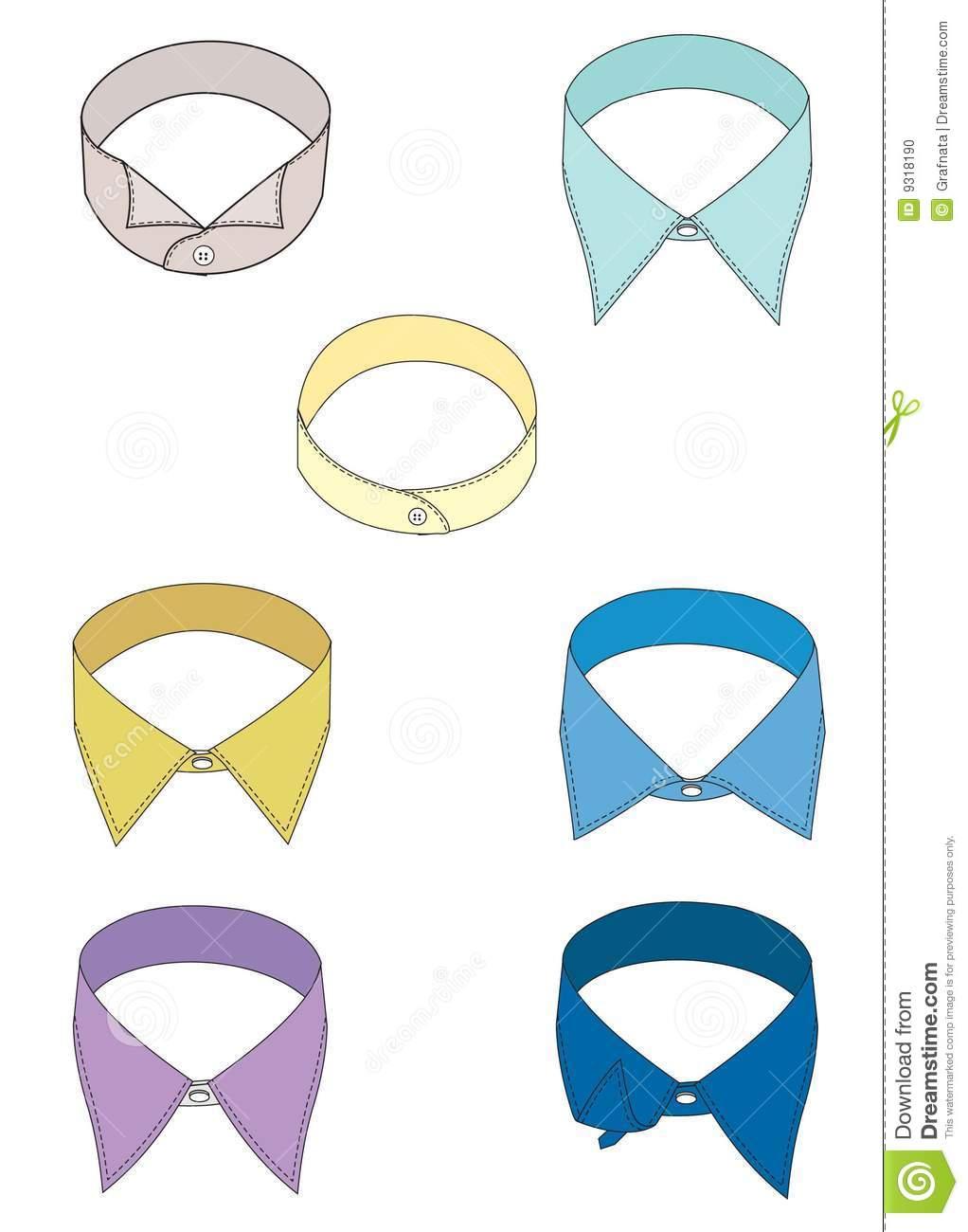 Dress Collar Clipart.