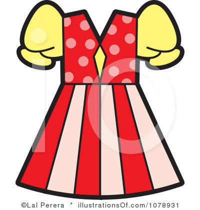 Clipart of dress.