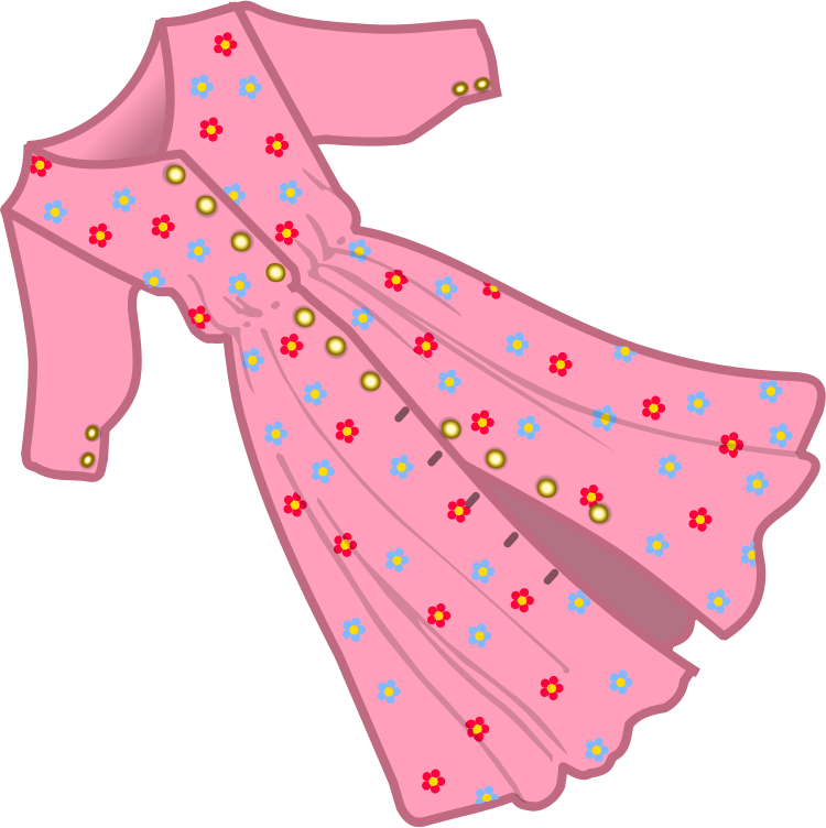 Dress clipart clipart.