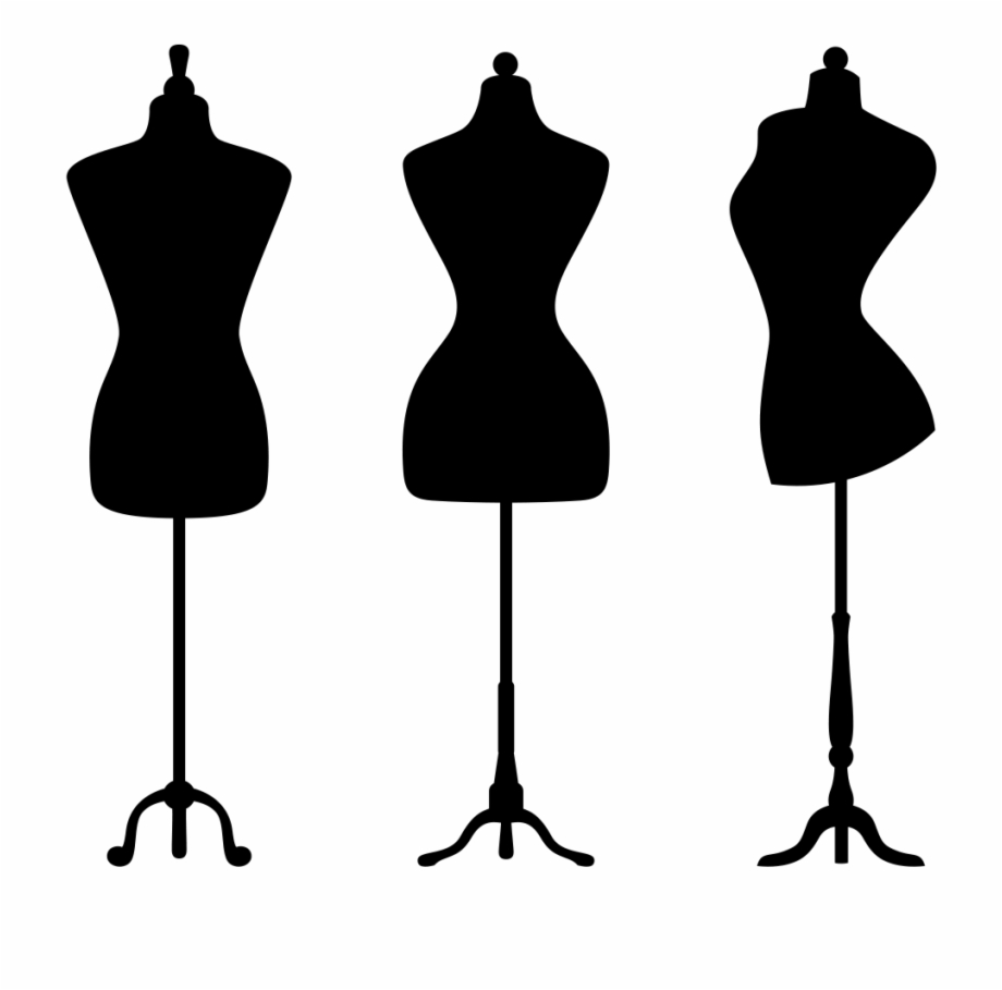 Dress Form Silhouette At Getdrawings Com Free.