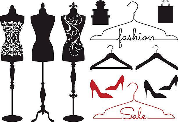 Best Dress Form Illustrations, Royalty.