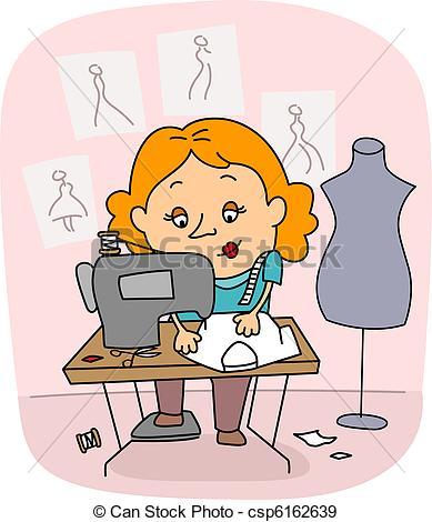 Dressmaker Clip Art and Stock Illustrations. 1,264 Dressmaker EPS.