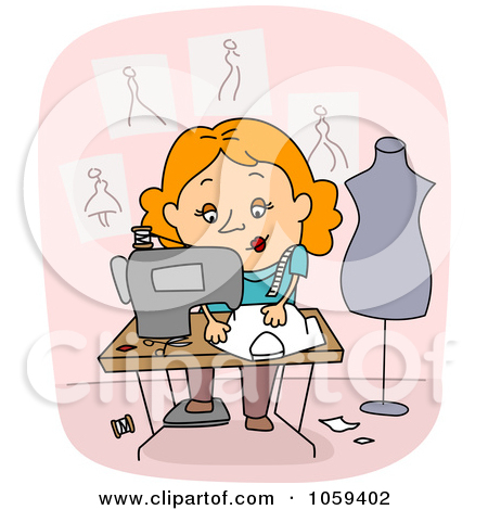Royalty Free Dressmaker Illustrations by BNP Design Studio Page 1.