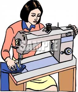 Dressmaker clipart.
