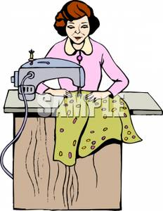 Alterations dress clipart.