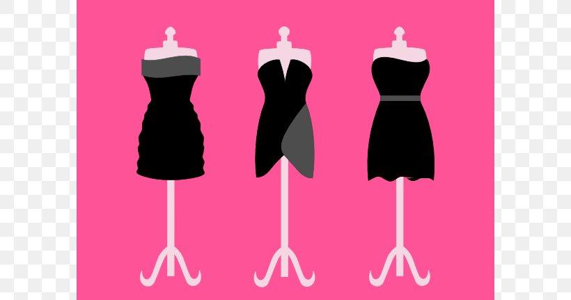 Little Black Dress Clothing Gown Clip Art, PNG, 600x431px.