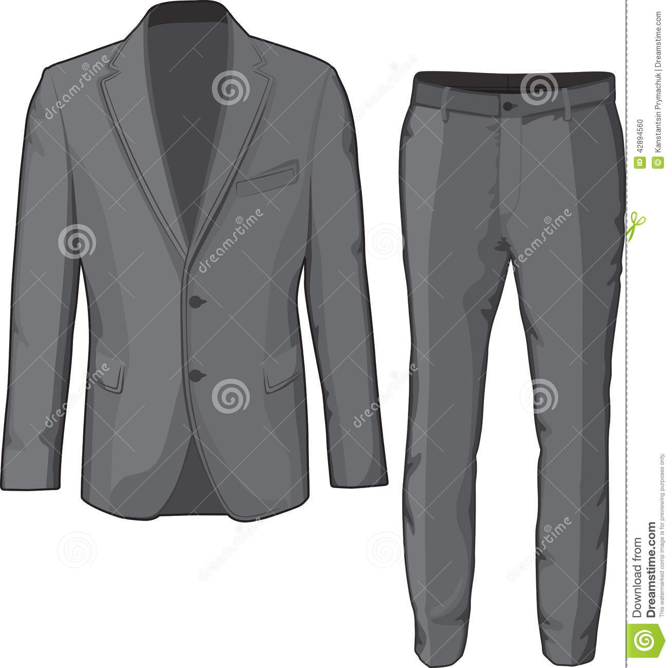 Dress Pants Clipart.
