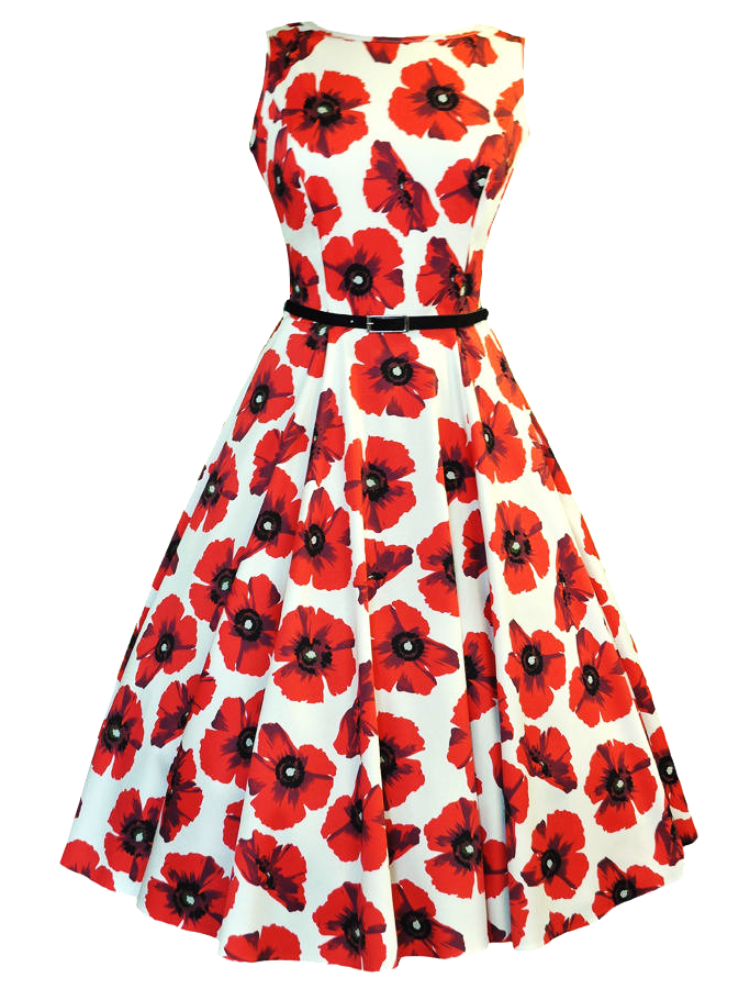 Download Floral Dress PNG Picture.
