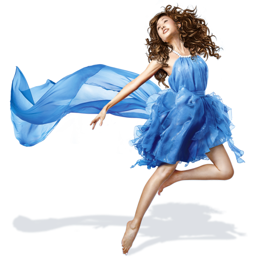 Download Blue Dress Girl Png Image 62080 For Designing Projects.