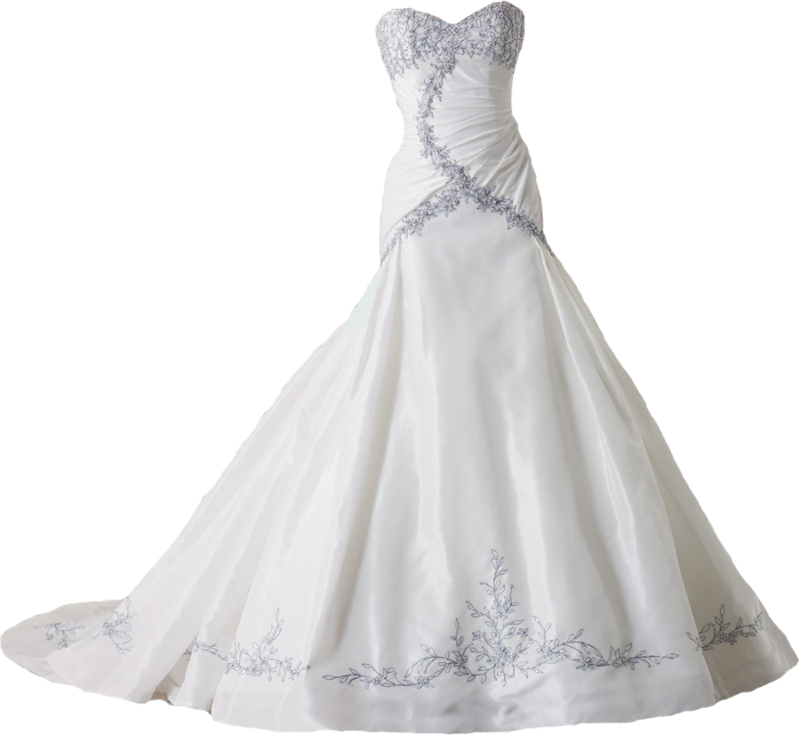 Download Wedding Dress Transparent PNG.