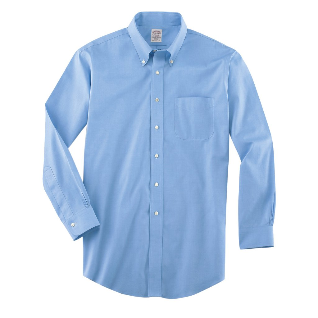 Brooks Brothers Men's Light Blue Non.