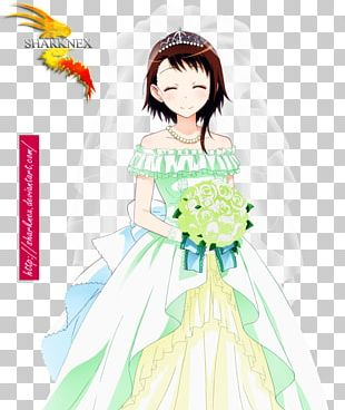 Anime Wedding Dress Up PNG Images, Anime Wedding Dress Up.