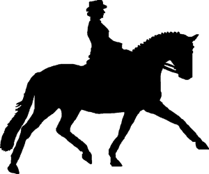 Dressage horse clipart clipart images gallery for free download.