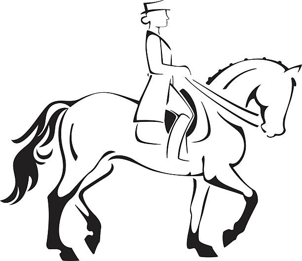 Free dressage clipart 3 » Clipart Station.