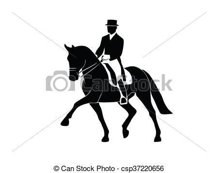 Dressage horses.