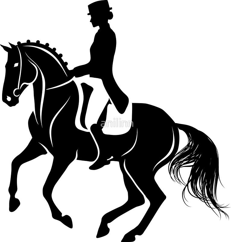 Dressage Horse Silhouette at GetDrawings.com.