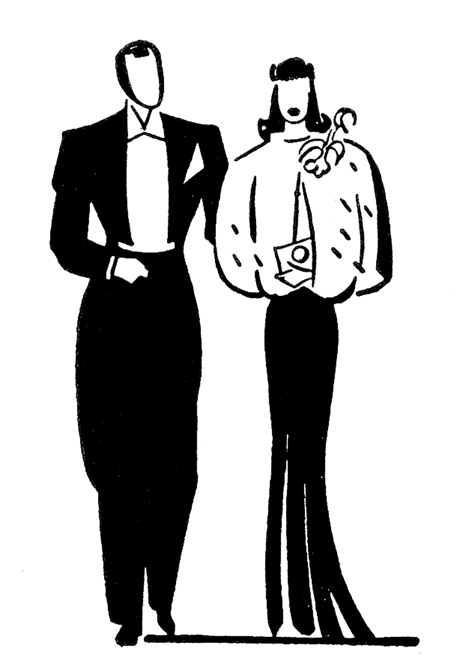 Best Dressed Clipart.