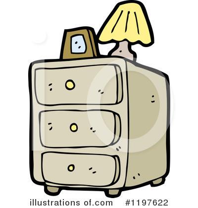 Bedroom Dresser Clipart #1197622.