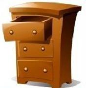 Dresser Clipart.