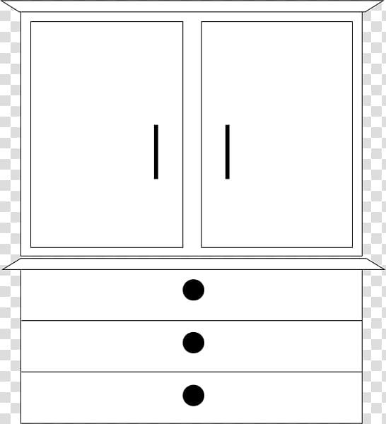 Chest of drawers Sideboard , Dresser transparent background.
