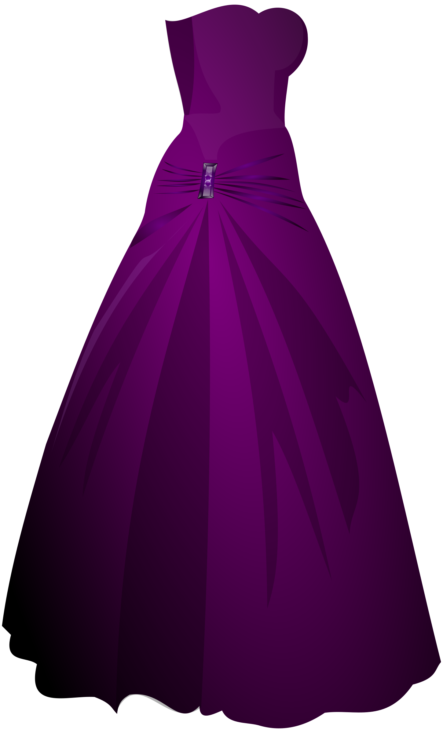 Formal dresses clipart.