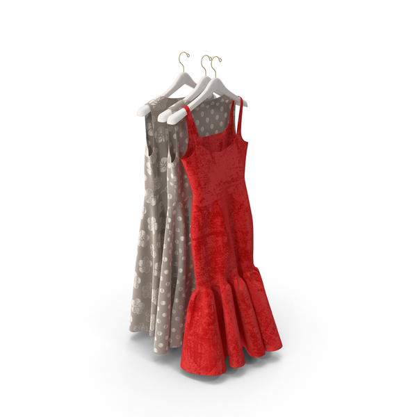 Hanging Dresses PNG Images & PSDs for Download.