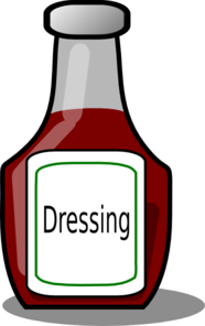 Salad dressing clip art.