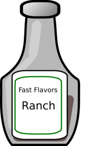 Ranch Dressing Clipart.