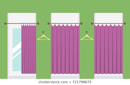 Fitting Room Clipart & Free Clip Art Images #30094.