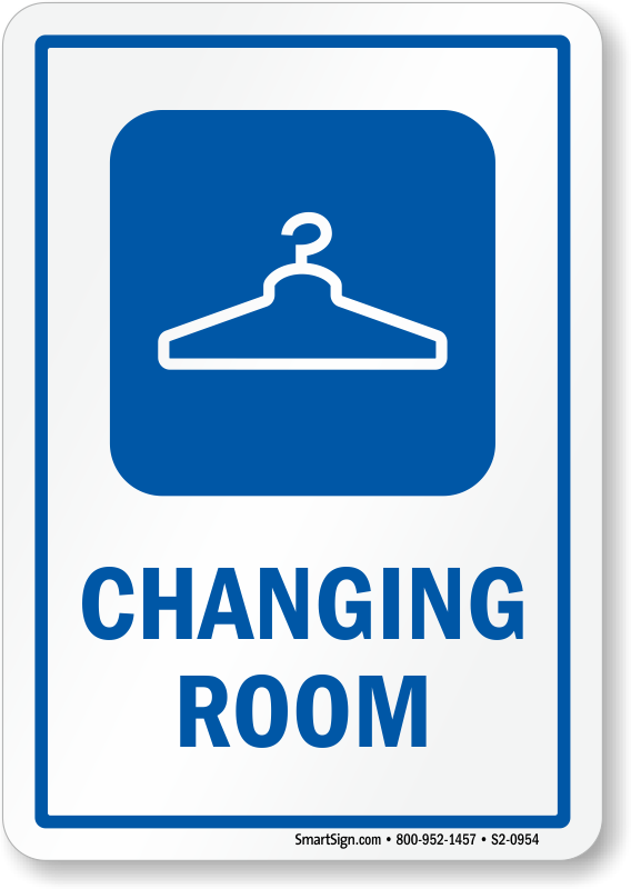 Dressing room sign clipart images gallery for free download.