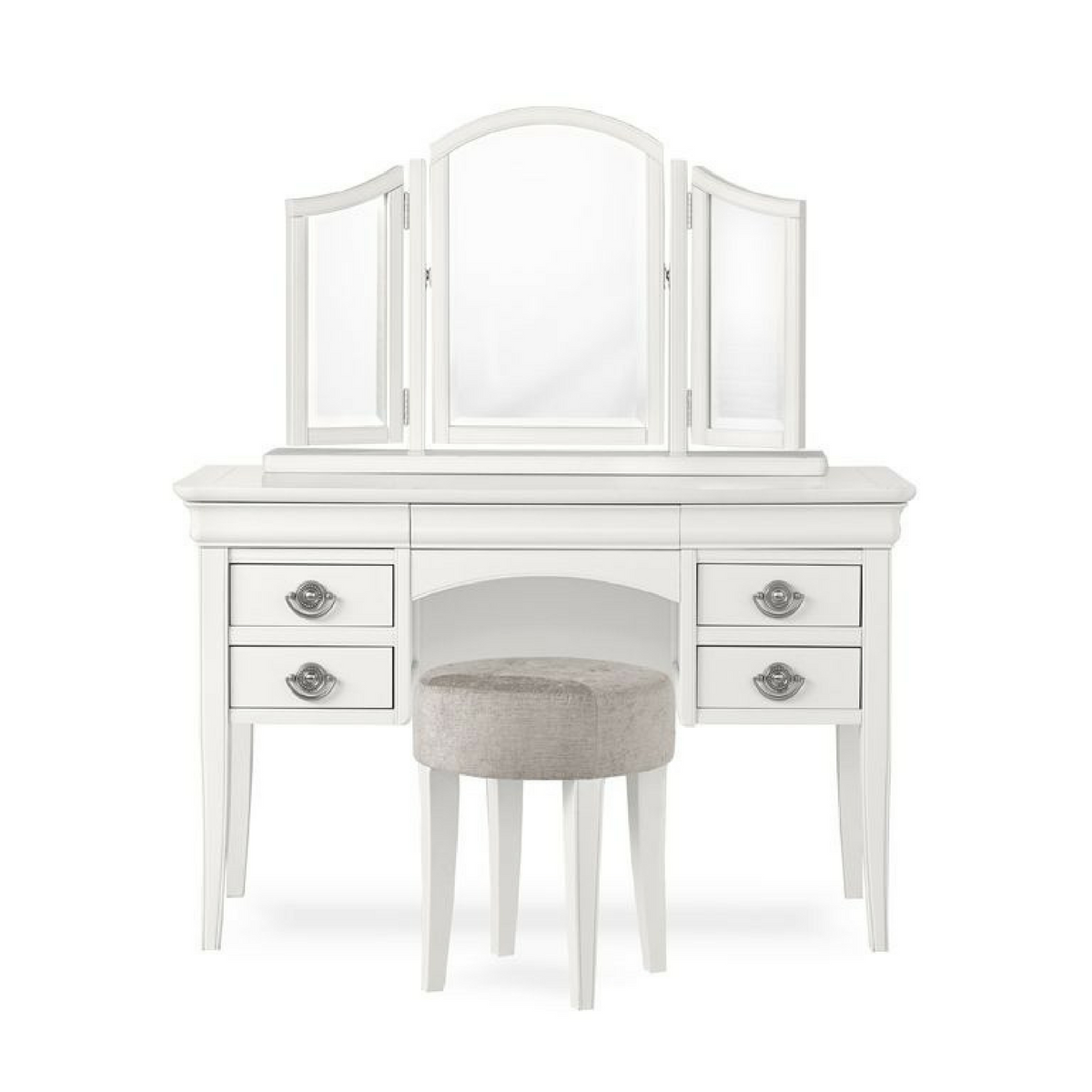 Chanel White Dressing Table.