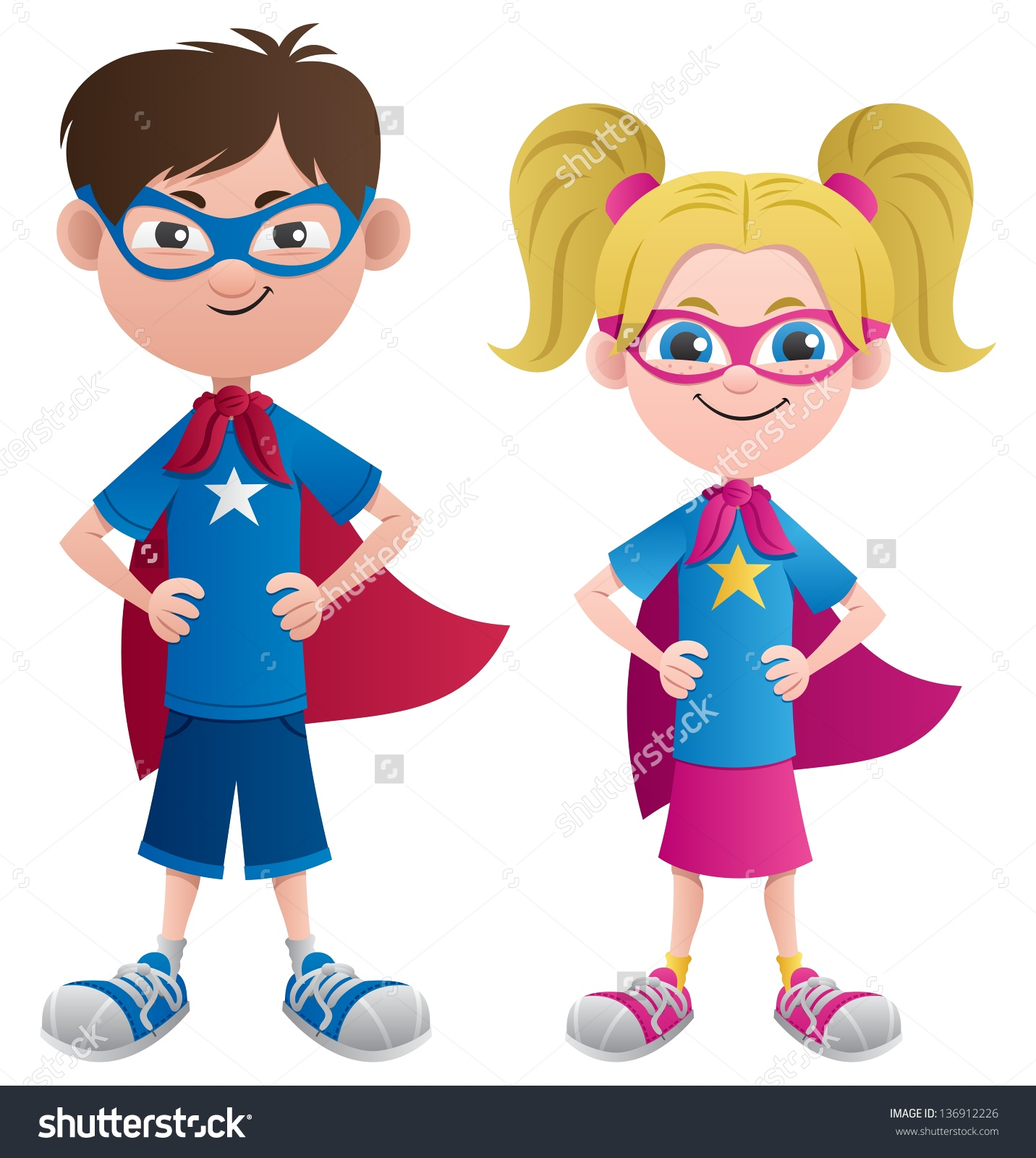 Kids dressing up clipart.