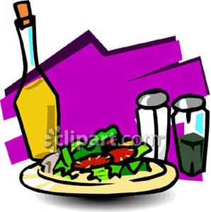 Salad Dressing Clipart.