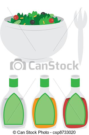 Clip Art Black And White French Dressing Clipart.