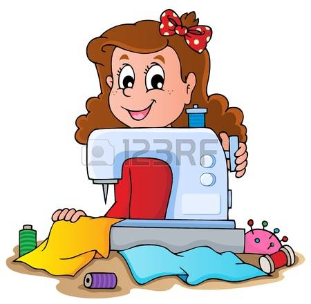 2,018 Seamstress Stock Vector Illustration And Royalty Free.