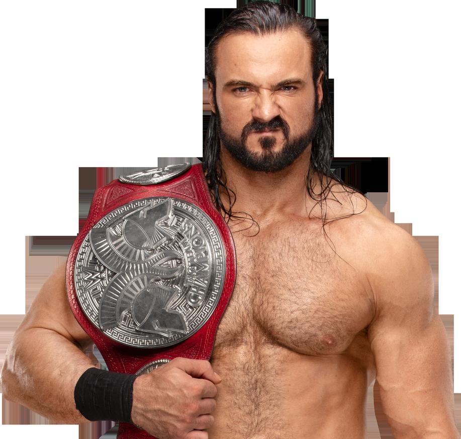 Drew McIntyre NEW RAW Tag.